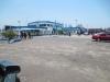 The port building at Kinshasa